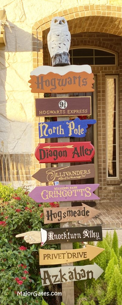 Harry Potter  Large Wooden Vintage Style Hand Painted Sign.